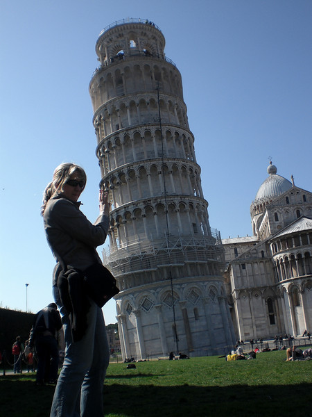 AB Hold's Up the Leaning Tower