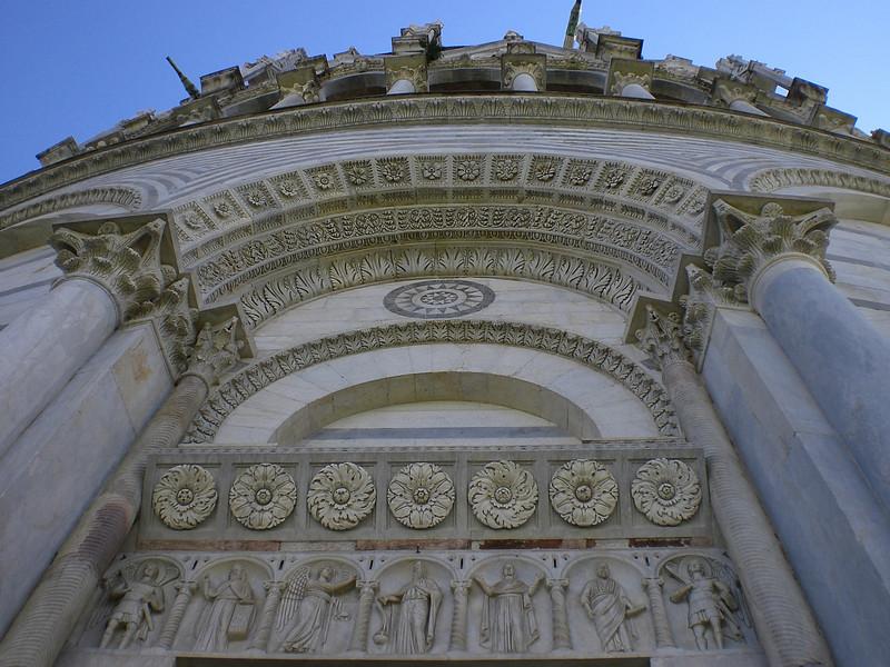 The Front of Pisa Duomo