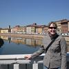 AB on bridge at Pisa