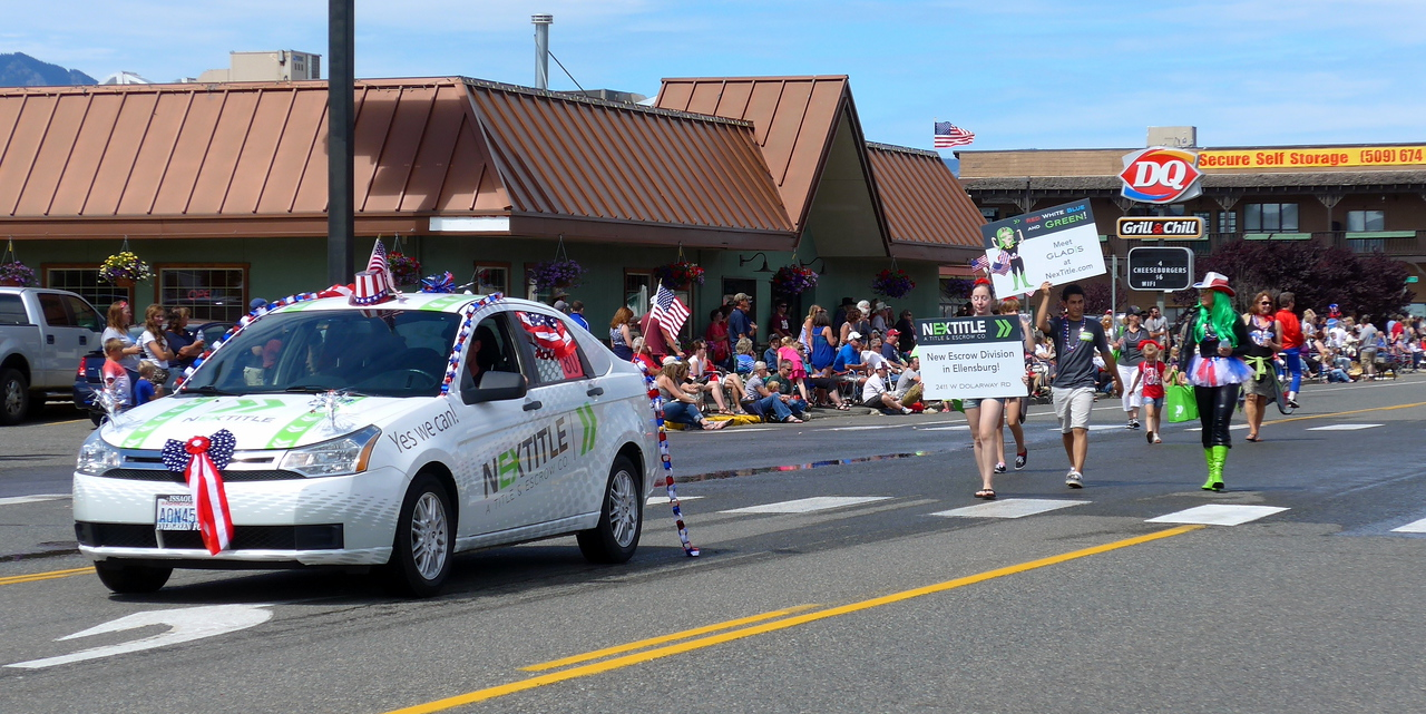 July 4th parade in Cle Elum