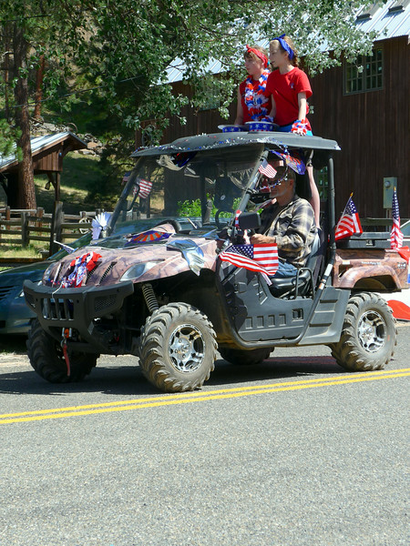 4th of July parade in Liberty