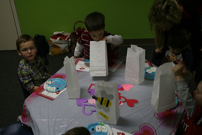 Cody's School Valentines Day Party - February 2013