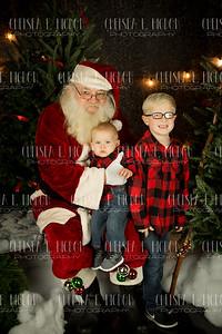 Collin & Dean - Santa