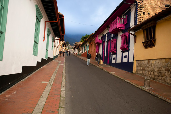 As in other countries from Central America, vibrant colors are visible everywhere.