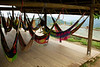 Casa Elemento is a hostel on a hill with no other buildings around. It's famous for the large hammocks provided and people coming to relax either in them or in the small swimming pool.