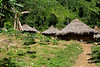 Village of indigenous people. The families gather here only when they need to make decisions together. <br /> <br /> For the rest of the time they have other houses at distances no longer than 3 days of walking.