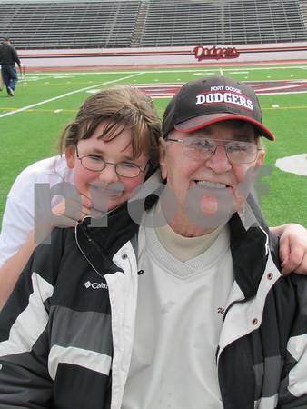 Bethany Grazier with Bob Breffle