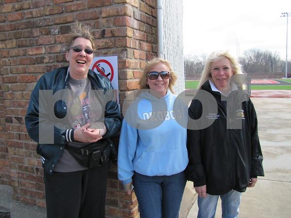 Laura Spencer, Sheila Juncker, and Joanni Brown are volunteers/members of the Moose.