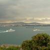 Zwaar weer boven de Bosporus