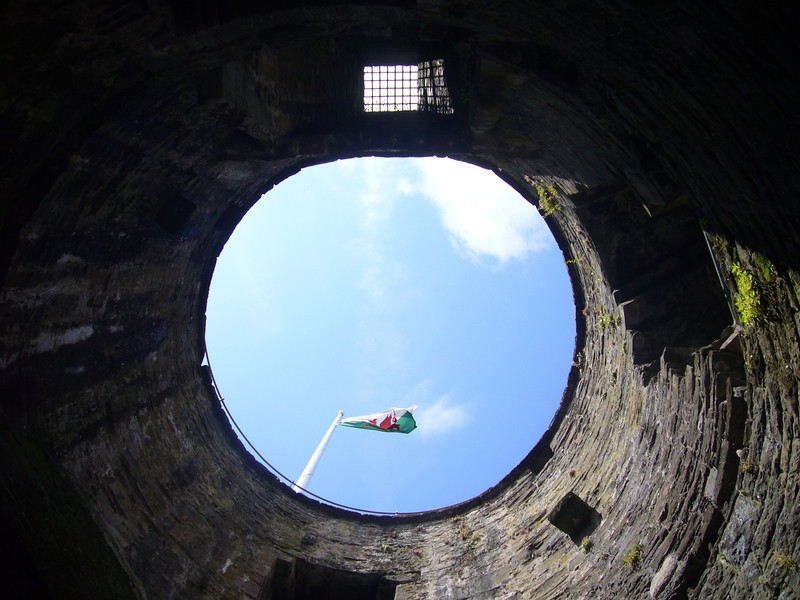 June 2011. Conwy Castle, Conwy, Wales. The castle was built by Edward I of England between 1277 and 1307.