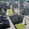 June 2011. Conwy Castle, Wales. The view from the top of one of the eight towers, most of which can be climbed.