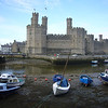 June 2011. Caernarfon Castle, Caernarfon, Gwynedd, Wales. This castle-palace was built between 1283 and 1330 as part of Edward I's ring of castles to watch over the Welsh. It is the most impressive castle I have ever visited. Ideal for hide and seek!