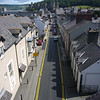 June 2011. Conwy, Wales. Follow the yellow-lined road to the castle. Taken from the town walls.