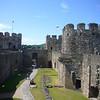 June 2011. Conwy Castle, Wales.