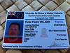 My Cook Islands driving license.