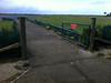 Gate 1 at Aitutaki International Airport