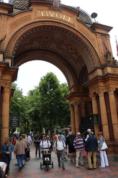 Copenhagen - Tivoli Gardens Gate 1