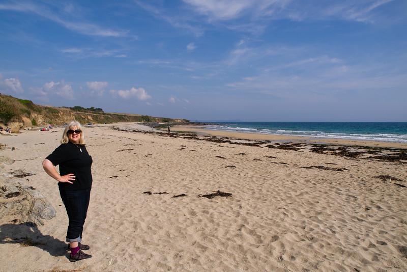 Towan Beach, Roseland Peninsular, Cornwall