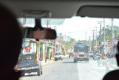 Granada - Nicaragua after six separate passport examinations to cross border from Costa Rica