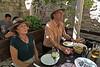 Croatia - Dubrovnik - Patricia and Marty at Lady Pi Pi Restaurant 1