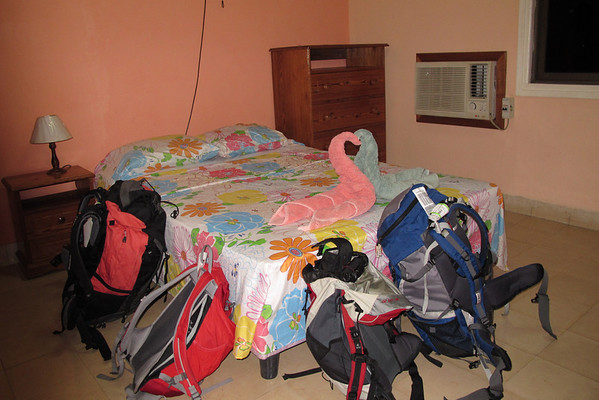 Room in Casa Particular. People are allowed to rent rooms from their house if they pay a license.