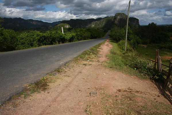 Outside Viñales there is not much action.