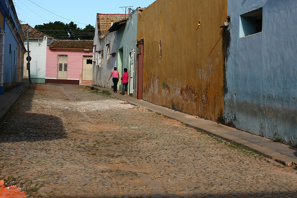 The streets of Trinidad, known for their colors.
