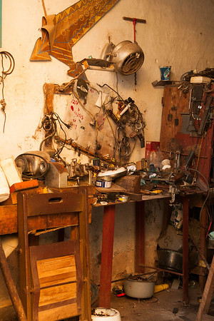 A workshop.
