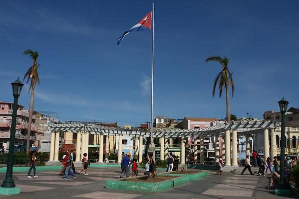 Plaza de Marte.