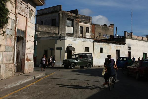 Outside the tourist area.