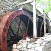 Flour mill water wheels