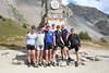 Triumphant at the top of Col d'Izoard.
