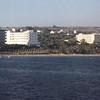 Somewhere at sea near Limassol.