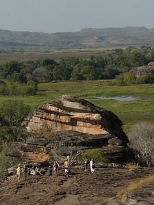 Ubirr, Kakadu National Park. View from Nadab lookout.