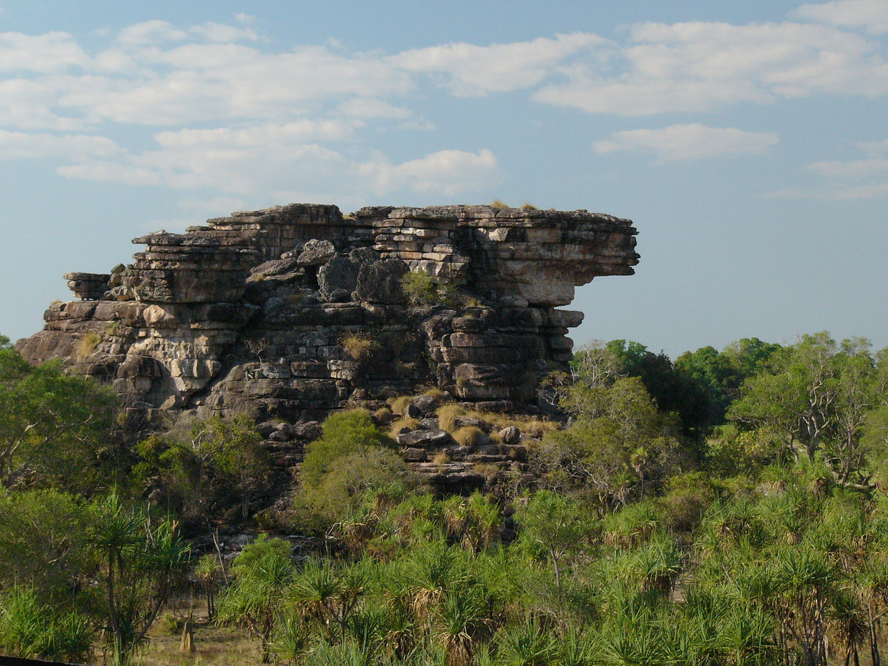Ubirr, Kakadu National Park. View on the way up to Nadab lookout.