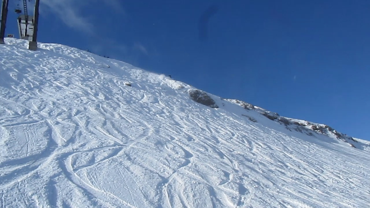 From 2010 - No hut this year... but went to squaw with Toro... Off the Kangaroo kicker... ouch.