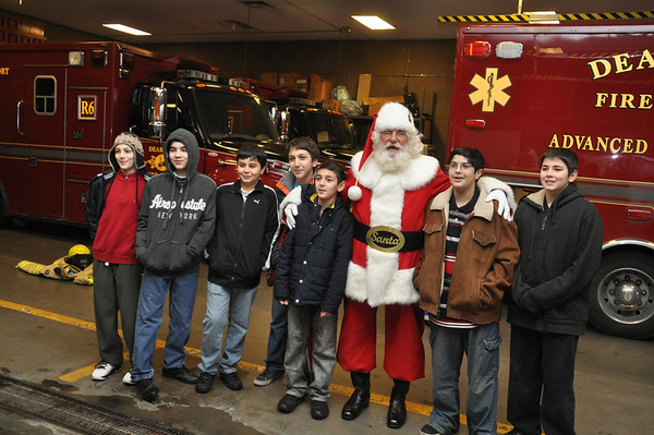 Dearborn Burn Drive Toy Run