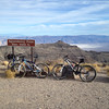 We made it to Aguereberry Point on our mountain bikes!