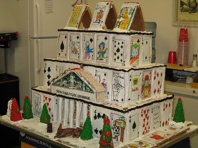 2008 WRBC auction - Milton Gingerbread House