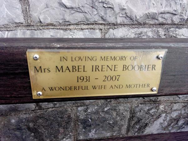 Mrs. Boobier