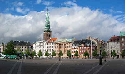 One of several open areas in Copenhagen