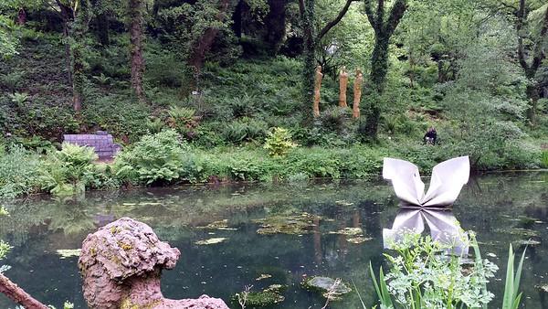 Devon Scuilpure Park May 2014