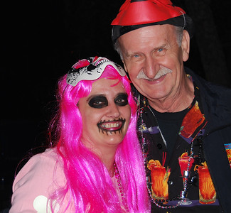 43 A father and daughter Halloween