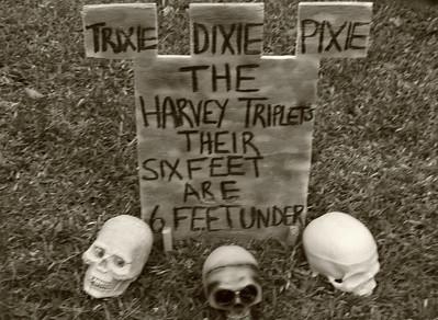 26 The Harvey Triplets on Halloween
