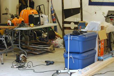 10 Garage Halloween Workshop