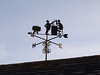 The pub weathervane
