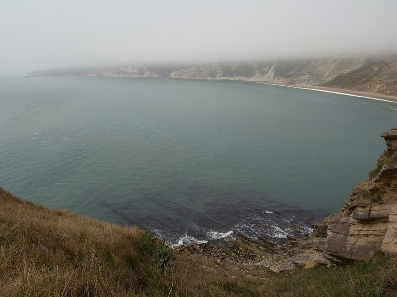 Worbarrow Bay from the Tout