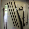 Period weopons from the Zulu war.