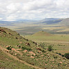 The rocky outcrop from which Ntshingwayo kaMahole Khozalo, a prince of the zulus, directed the battle / massacre. The outer line of Colonel Durnsfords Natal Native regiment fought bravely in the valley below before they were overwhelmed.