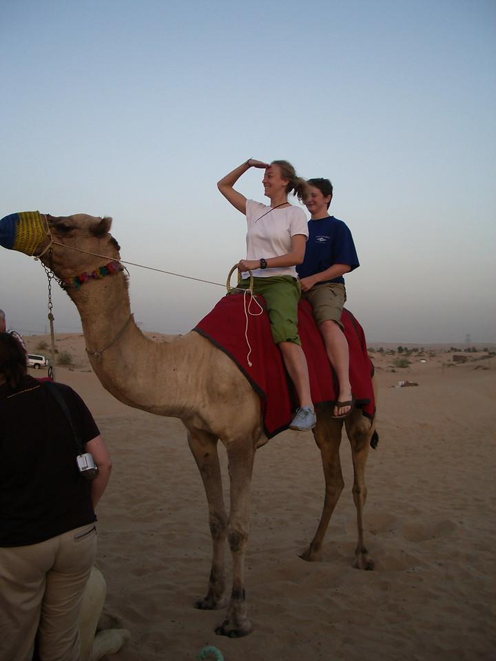 026 Hannah and Suz Camel Ride